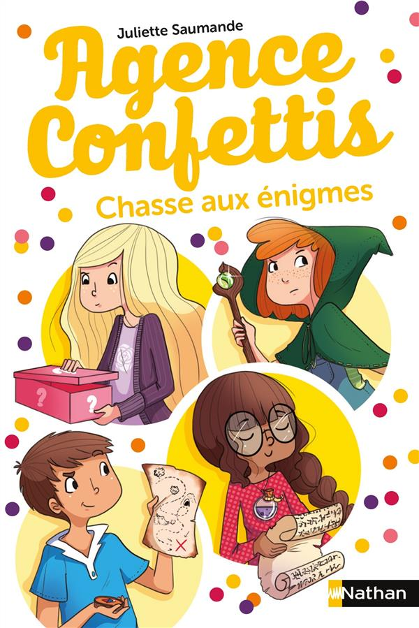 AGENCE CONFETTIS   TOME 6 CHASSE AUX ENIGMES   VOL6